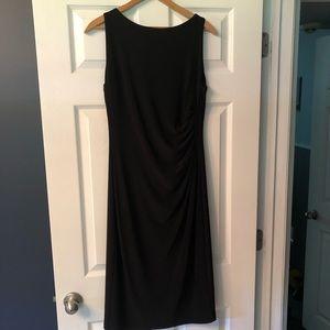 Black sleeveless Ralph Lauren dress